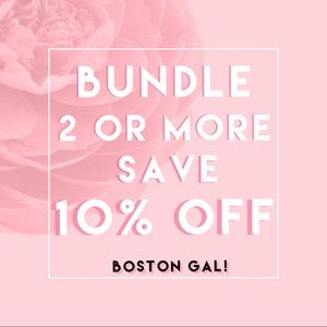 Other - 10% off when you bundle only 2 items or more!